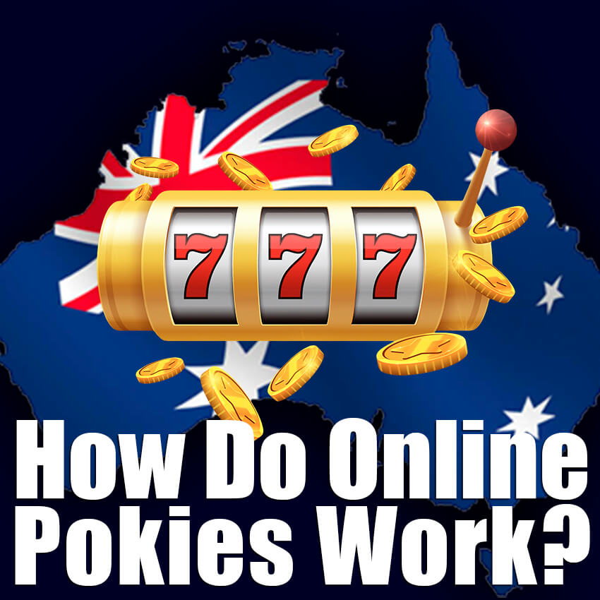 How do online pokies work
